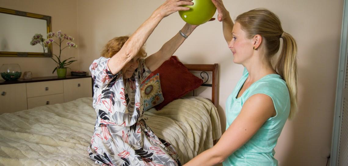 Füsioteraapia kliendi kodus